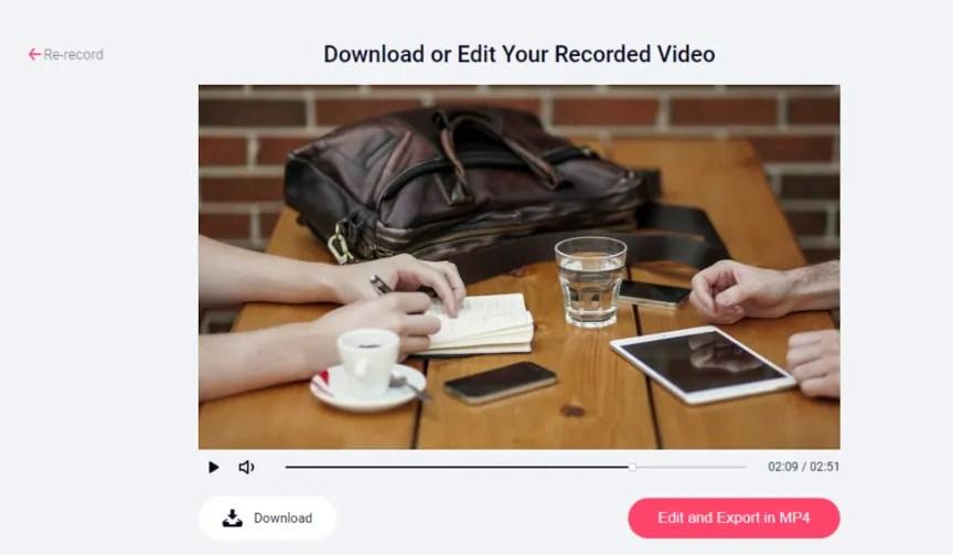 RecordCast - Registrare lo schermo del PC online