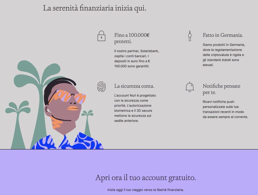 Nuri: Libertà finanziaria a portata di App