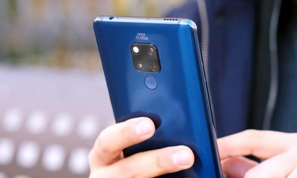 Huawei Mate 20X parte trasera