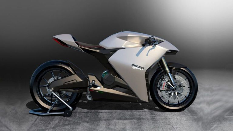 moto eléctrica ducati