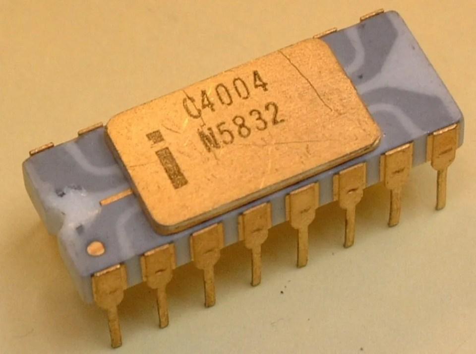 Primer procesador Intel