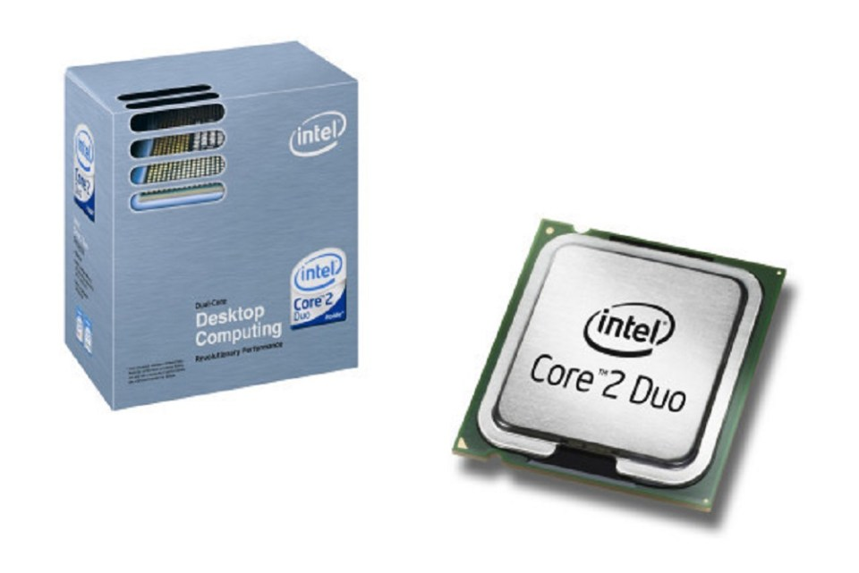 Procesador Core 2 Duo de Intel