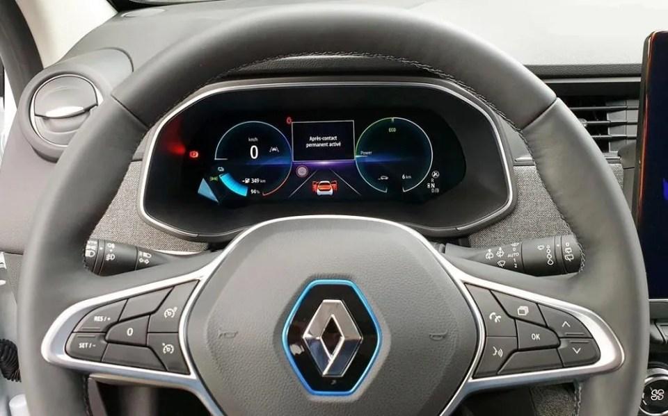 Renault Zoe diseño interior