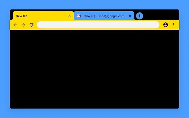temas diseñados por google chrome