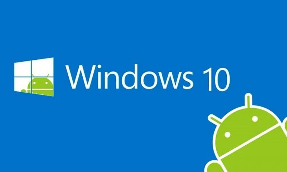Cómo usar la integración de Android con Windows 10