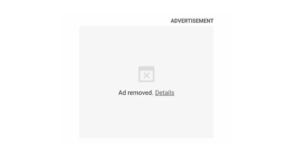 Google Chrome bloqueará anuncios y mostrará este mensaje