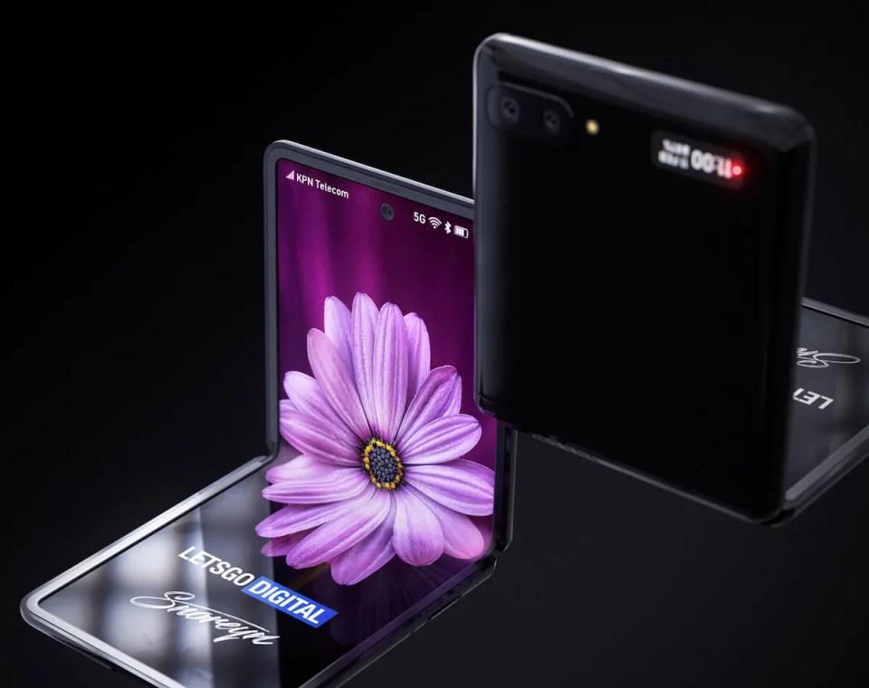 descubre el teléfono plegable Samsung Galaxy Z Flip