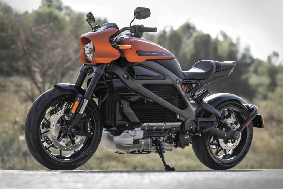 Harley Davidson LiveWire, una de las mejores motos eléctricas equivalentes a 125