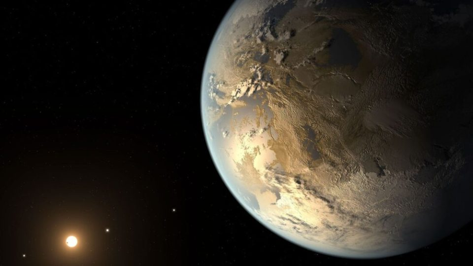 hay vida en el espacio exterior