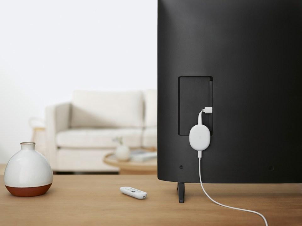 El dispositivo se conecta a la televisión por HDMI