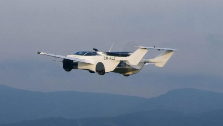 Descubre el AirCar, el coche que vuela