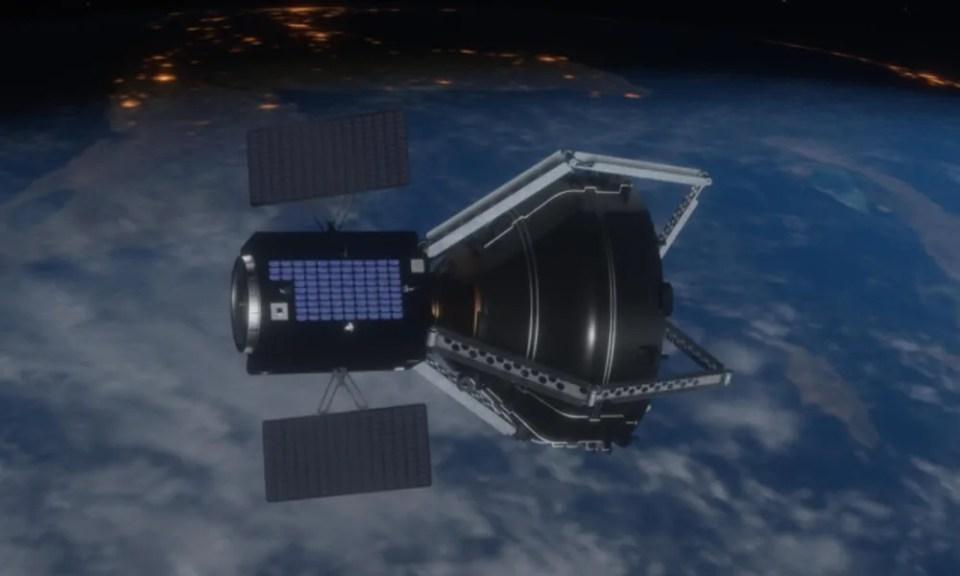 Programa de limpieza espacial de la ESA y ClearSpace