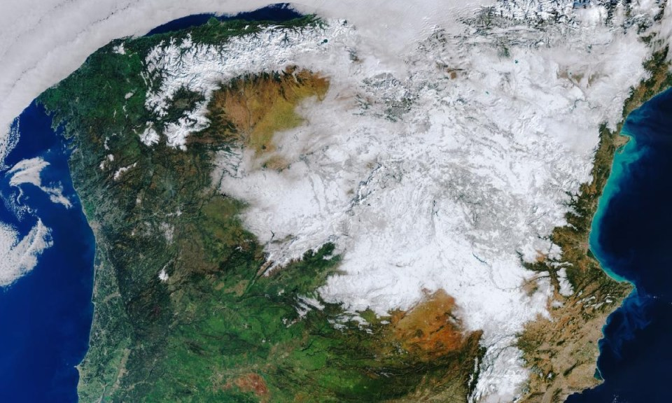 Las heladas en España son producto del cambio climático