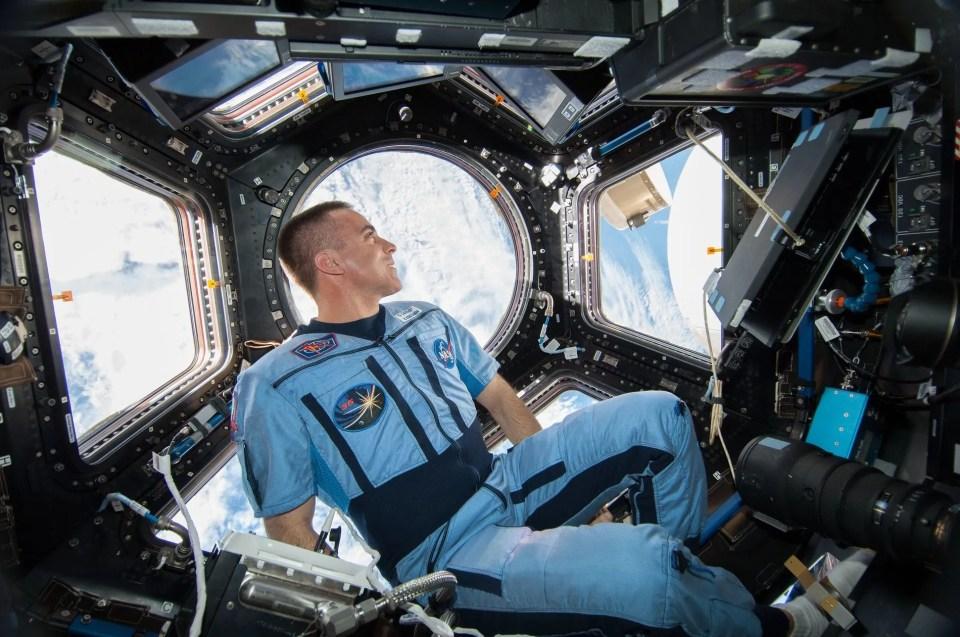 cómo es la vida de un astronauta en la Estación Espacial Internacional