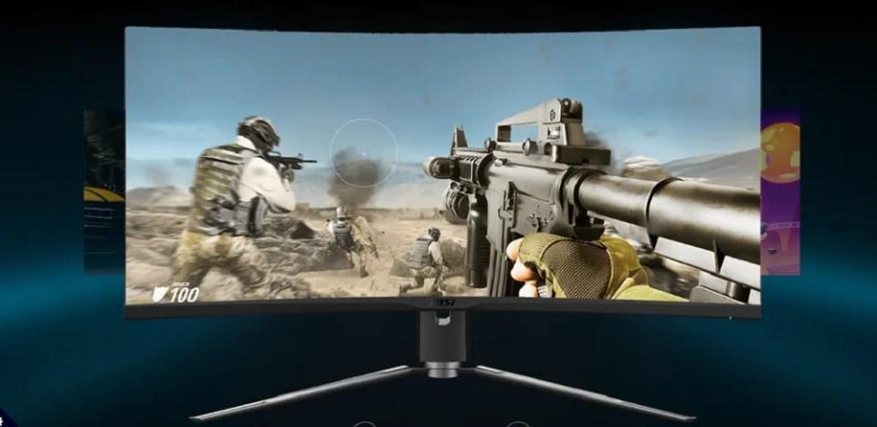 La pantalla 1000R del MPG ARTYMIS 343CQR ofrece una curvatura perfecta