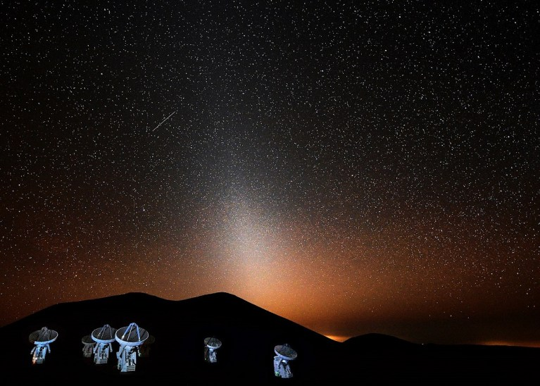 ¿Sabes qué es la luz zodiacal y por qué podemos verla
