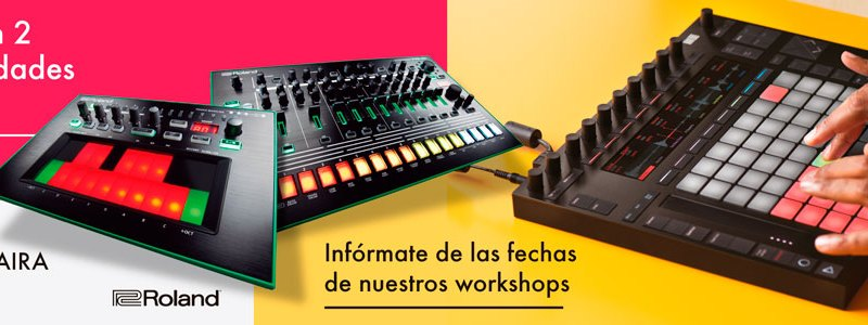 Demo Tour con Ableton Push 2