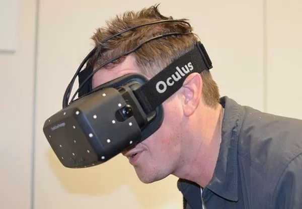 Oculus Crystal Cove CES 2014