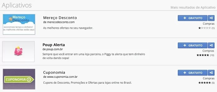 Plugins de descontos