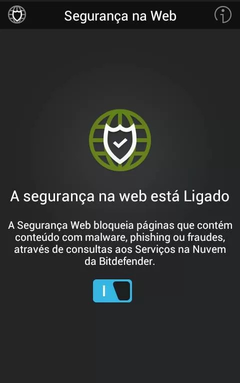 Bitdefender Mobile Security & Antivirus - Segurança na Web