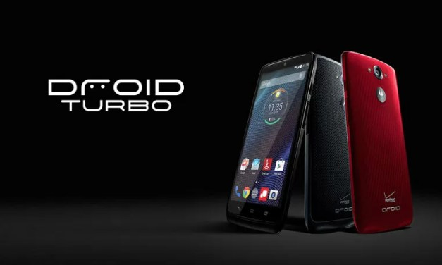 Motorola revela o DROID Turbo, o sucessor do Moto Maxx