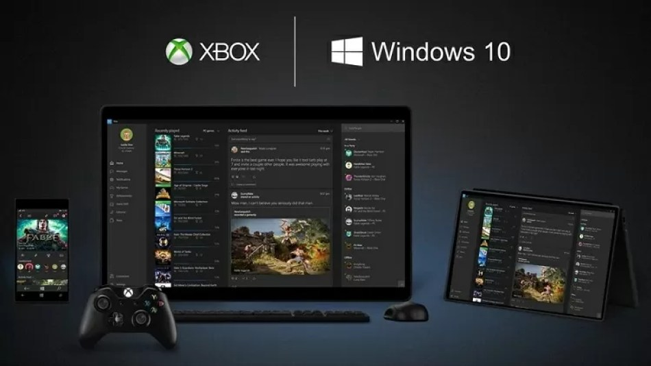 Xbox One app Windows 10