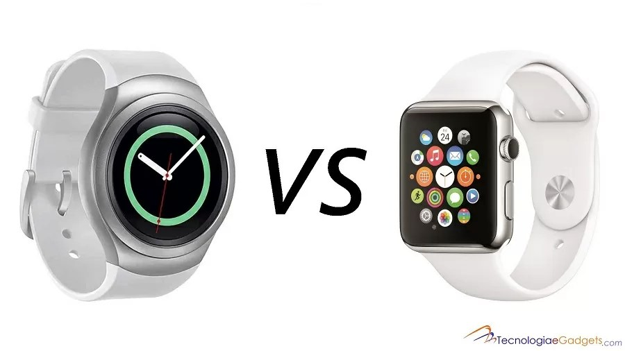 Samsung Gear S2 vs Apple Watch: O duelo dos smartwatches