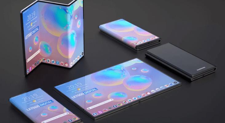 Galaxy Fold 2: Así sería otro teléfono plegable de Samsung