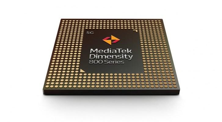 MediaTek anuncia los chipsets Dimensity 800 de la serie 5G