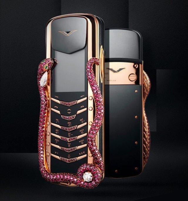 El celular mas barato de los mas caros del mundo: Vertu Signature Cobra - usd 310,000