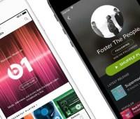 La gran pelea entre Apple Music y Spotify