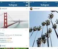 Instagram ahora permite subir fotos de varios tamaños