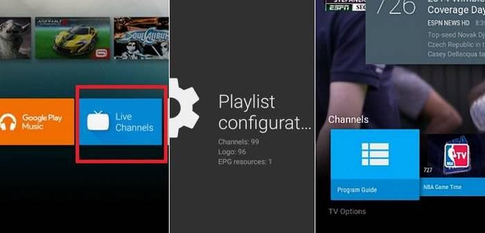agredar canales lista m3u a live channels