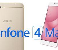 ZenFone 4 Max revelado por ASUS en Rusia (especificaciones oficiales)