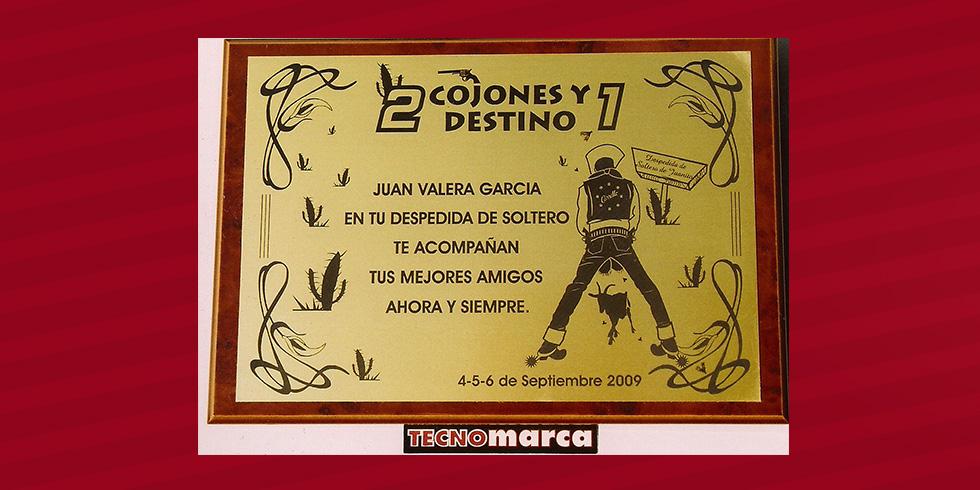 Placa Homenaje Hurtaplas