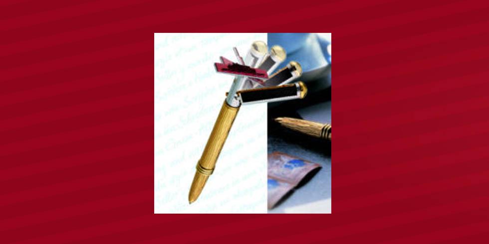 bolígrafos con sello