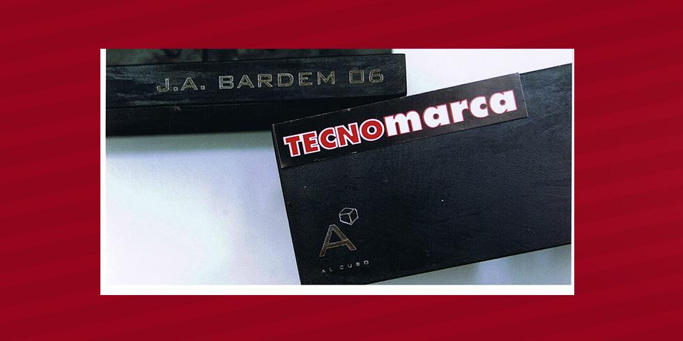 grabado hierro  trofeo Bardem