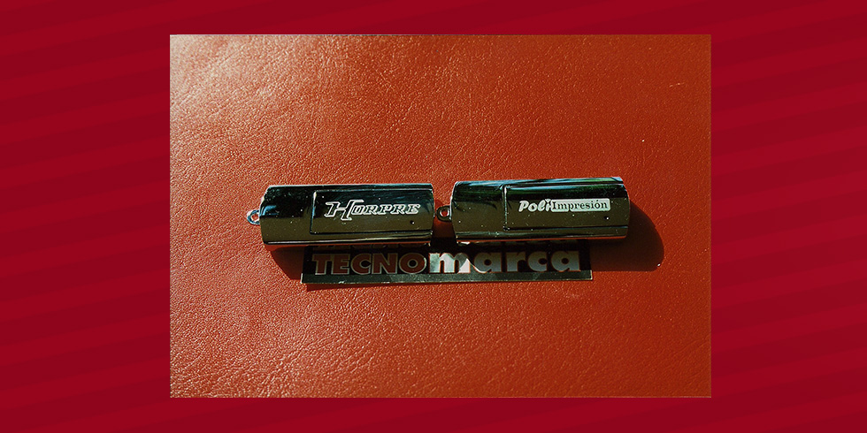 grabado láser USB