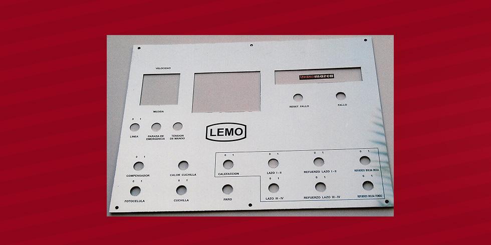 grabado láser acero Lemo