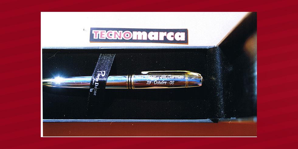 grabado láser bolígrafo boda