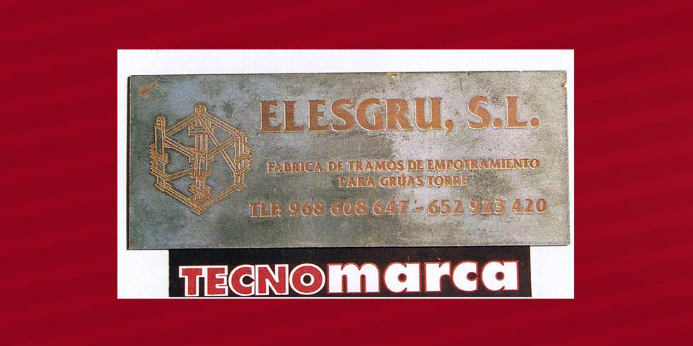 grabado láser hierro Elesgru