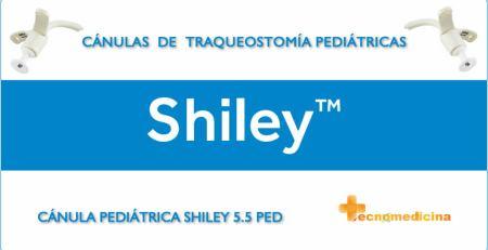 Cánulas de traqueostomía pediátricas y neonatales Shiley