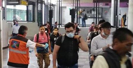 Uso obligatorio de cubrebocas en el Metro por COVID-19