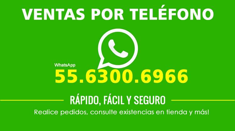 Ventas por telefono Tecnomedicina 5563006966