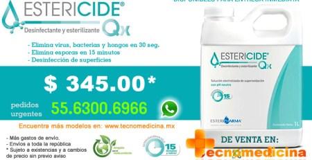Estericide Qx 1litro Tecnomedicina