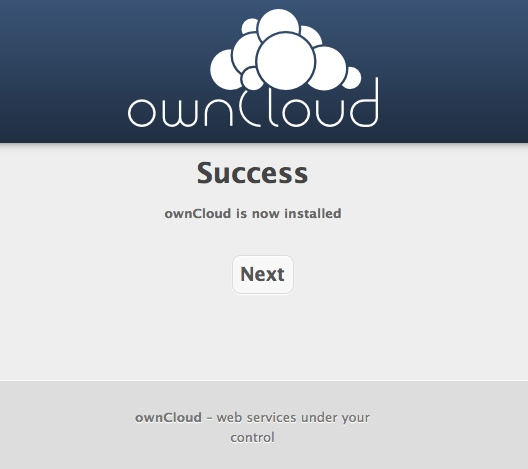 owncloudsuccess