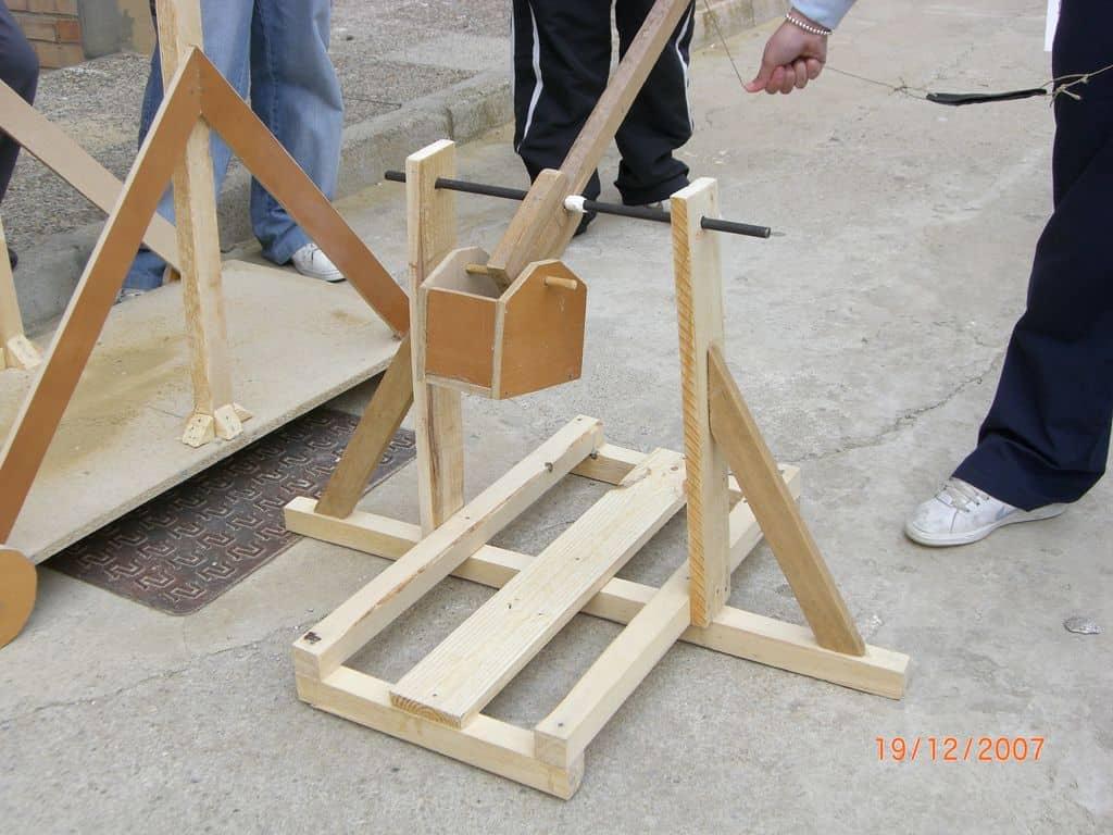 Catapultas trebuchet en pruebas2