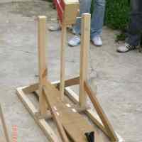 Construcción de una trebuchet