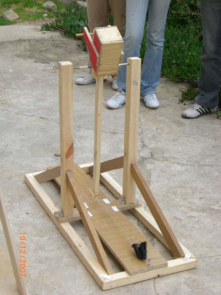 Catapulta trebuchet 1