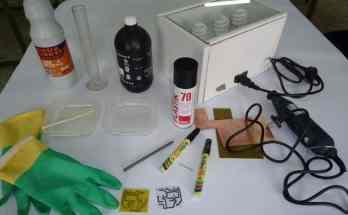 Técnicas de fabricación de circuitos impresos- Electrónica